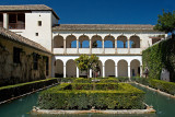Alhambra: Generalife: The Cypress Courtyard