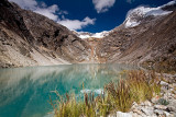 Glacier Lake close to Taullipampa Camp at 4500m