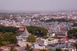 View over Myanmar