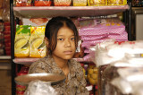 Young sales woman in Mae Sai