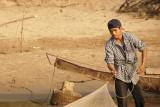 Laos fisherman in Golden Triangel