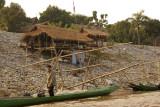 Thai village at the Golden Triangel