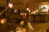 The bar in the late hours