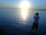 Dead Sea-Sun Set