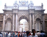 The Treasury Gate,Dolmabahce Palace