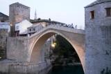 The old bridge of Mostar