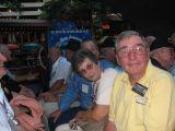 Bill Dehlinger takes in the scenery.John McDonald over Bill's left shoulder.