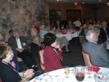 Saturday night banquet at Ft Sam Houston Officer's Club.