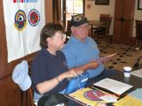 Check-in time at San Antonio 2006 Reunion