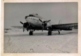 Gypsy Plane Christmas Day 1954 at Kimpo.