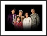 Paul's Family :: Grandpa & Grandma, Mom, and brother John