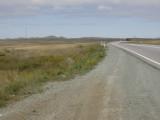 Unusually pointy hills south of Karaganda