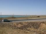 Parked at western end of Lake Balkash