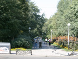 Little park area off Dostyk