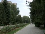Pedestrian walkway from Dostyk Avenue to Pushkin Street