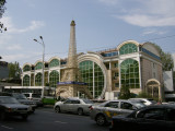 Shopping centre corner of Abai and Furmanov