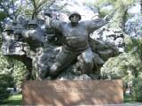 WW11 memorial, Panfilov Park