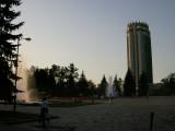 Hotel Kazakhstan, early evening