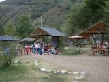 Picnic site at trout farm, Turgen Gorge