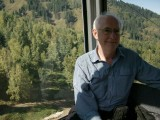 Cable car up to new ski development east of Almaty