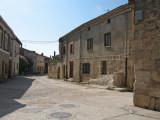 Medieval stone buildings in Hontanas