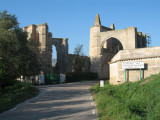 Ruins of Convento de San Anton, built in the XV  C, near Castrojeriz