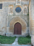 Entrance to the Colegiata in Castrojeriz