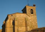 Stork nest at Iglesia de Santa Maria