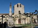 Romanic church Santa Maria del Camino (XII c) in Carrion de los Condes