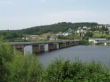Bridge across Rio Miño in Portomarin