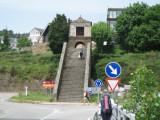 The climb into the new city
