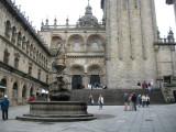 View from Praza de Praterias