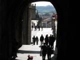 Porta del Camino into Praza Obradoiro