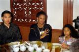 Mark, Linda and Shanai Chung