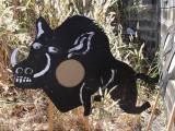 Feral pig target