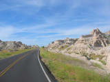 road stretching ahead