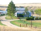 homestead on the prairie