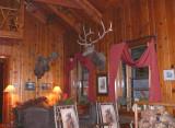 Inside Cedar Pass Lodge Restaurant