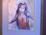 original watercolour painting by Marion Toillion