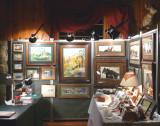 exhibit inside Cedar Pass lodge