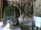 vanity in a prairie bedroom