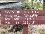 food caves sign