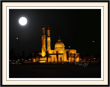 Mosque in Moon Light