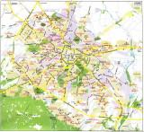 SOFIA's main road arteries - 2000