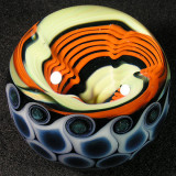 Opal Orange Racer  Size: 2.34  Price: SOLD