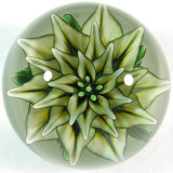 Pale Yellow Star  Size: 1.41  Price: SOLD
