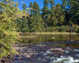 Wolf River near Keshena Falls