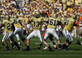GT QB Taylor Bennett has plenty of time to pass from the pocket