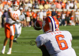 Tiger WR Ford hauls in a pass from QB Harper