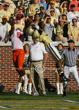 GT CB Word-Daniels goes up against Tiger WR Ford…